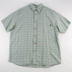 Woolrich Mens Shirt Size XL Casual Short Sleeve